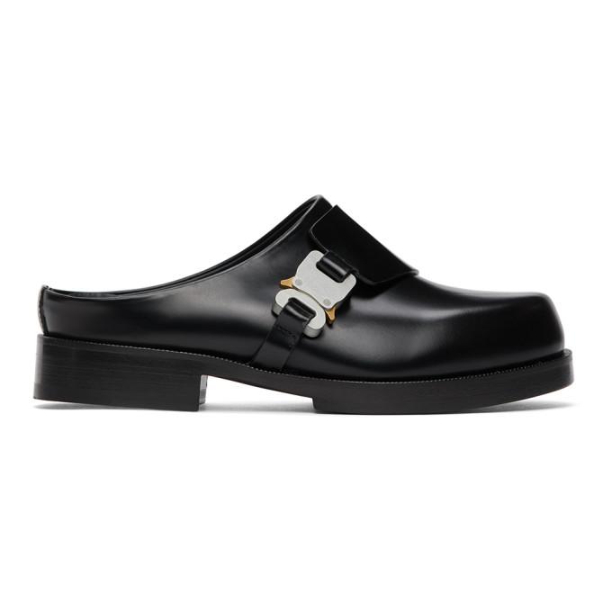 1017 ALYX 9SM Black Formal Clog Loafers 202776F12102002