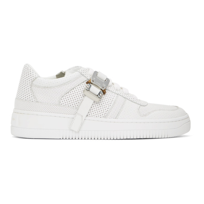1017 ALYX 9SM Baskets blanches Buckle