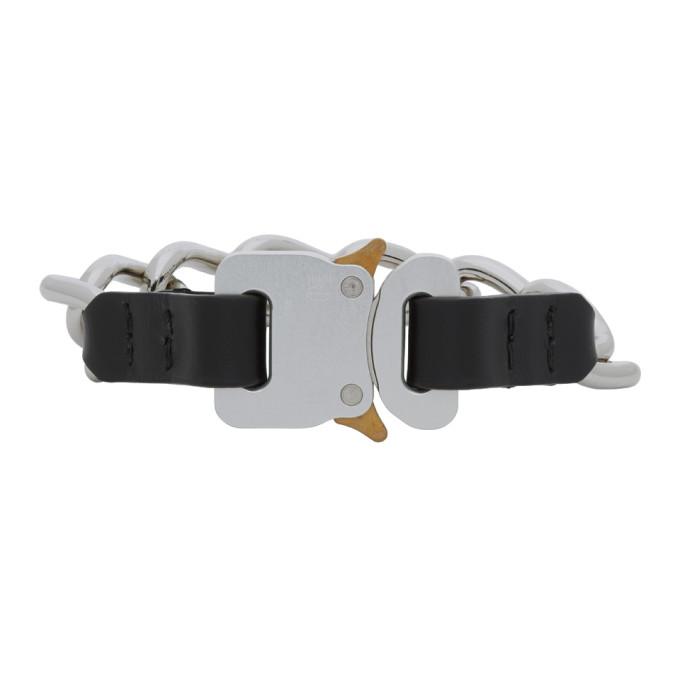 1017 ALYX 9SM Silver Buckle Bracelet 202776M14211802