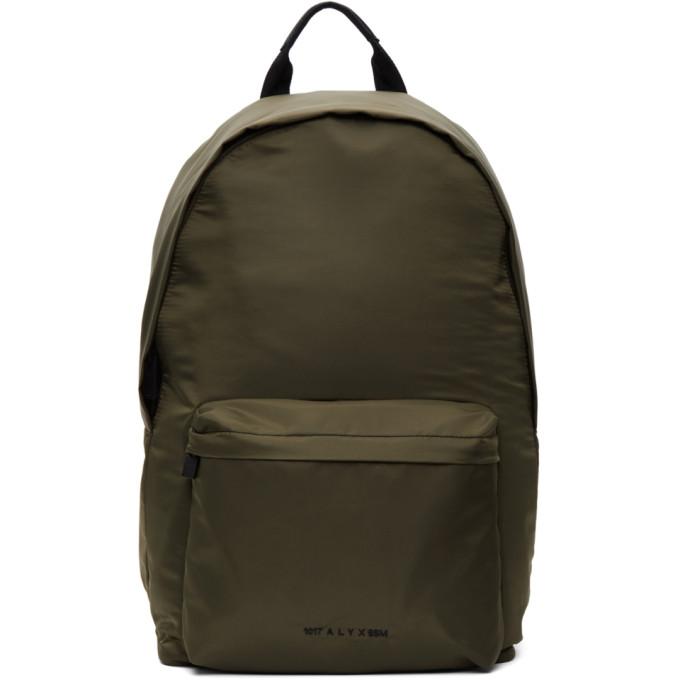 1017 ALYX 9SM Green Fuoripista Backpack 202776M16607701