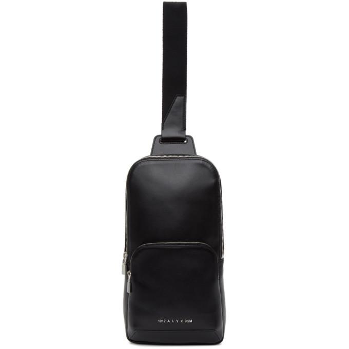 1017 ALYX 9SM Black Leather Crossbody Bag 202776M17004801