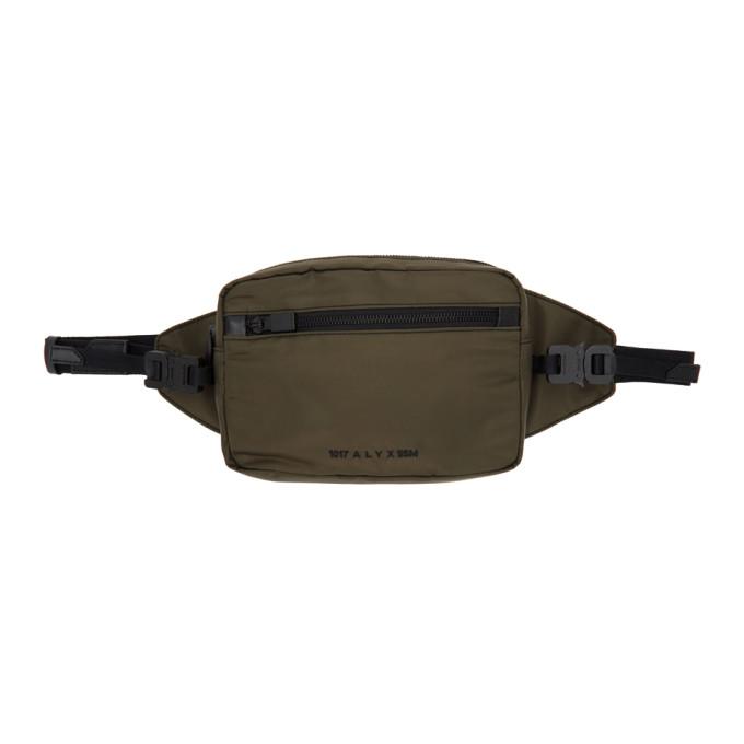1017 ALYX 9SM Green Fuoripista Belt Bag 202776M17108001