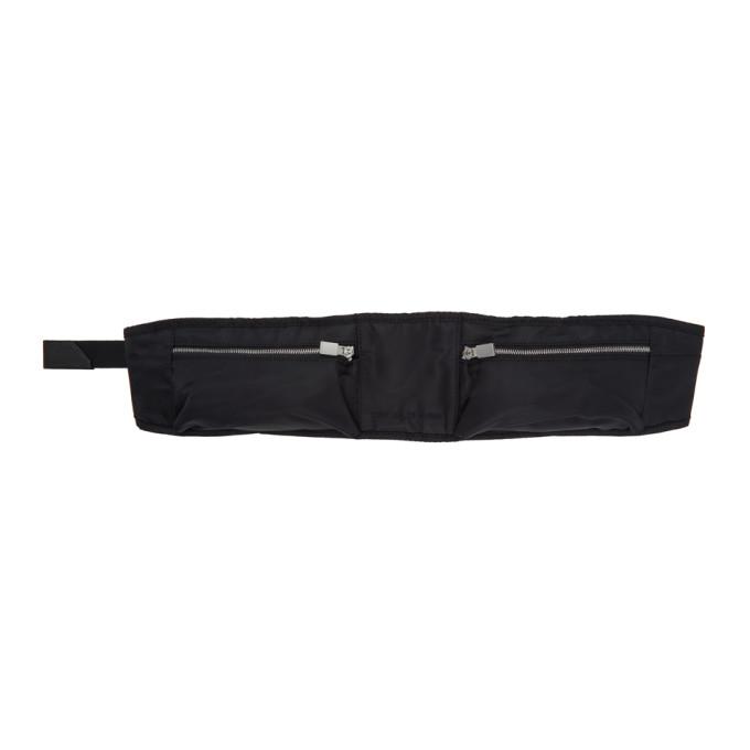 1017 ALYX 9SM Black Nylon Pocket Belt Bag 202776M17108101