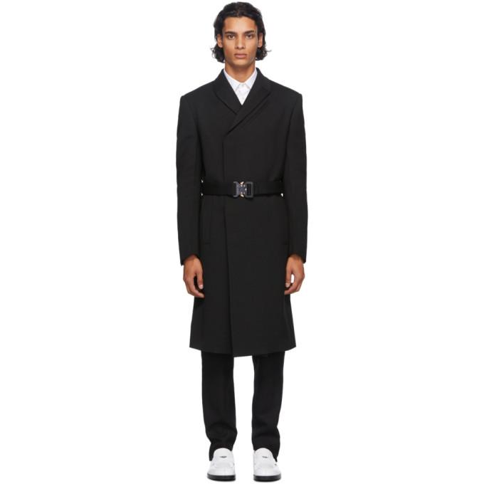 1017 ALYX 9SM Black Double High Coat 202776M17601201