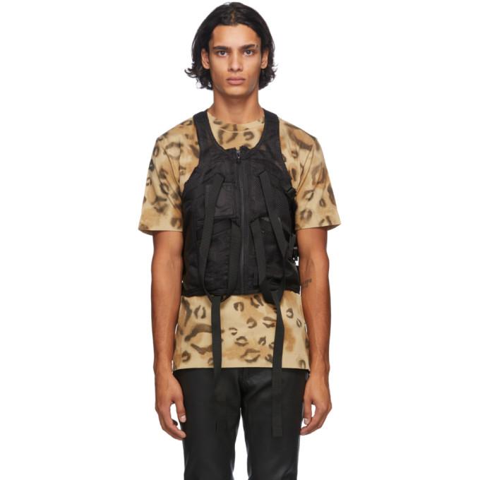1017 ALYX 9SM Black Mesh Tactical Vest 202776M18500301