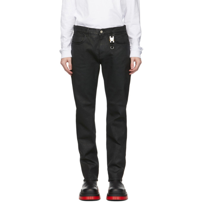 ALYX 1017 ALYX 9SM BLACK SIX-POCKET MOONLIT JEANS