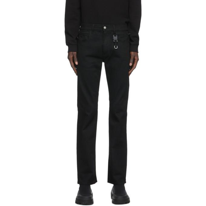 1017 ALYX 9SM Black Six Pocket Jeans 202776M18602602