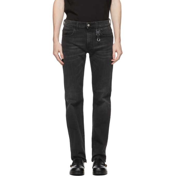 1017 ALYX 9SM Black Classic Buckle Jeans 202776M18602904