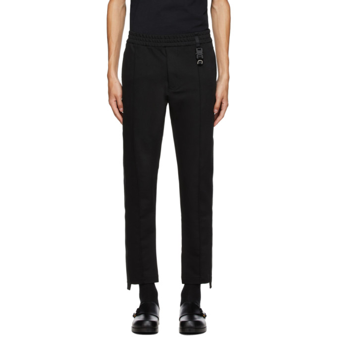 1017 ALYX 9SM Black Trackpant 1 Trousers 202776M19002401