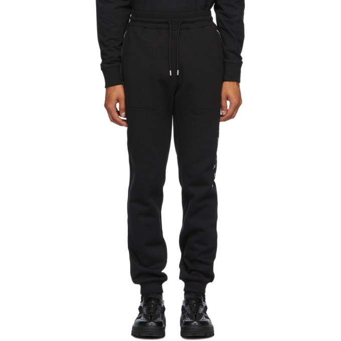 1017 ALYX 9SM Black Visual Lounge Pants 202776M19002704