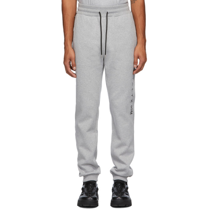1017 ALYX 9SM Grey Visual Lounge Pants 202776M19002803