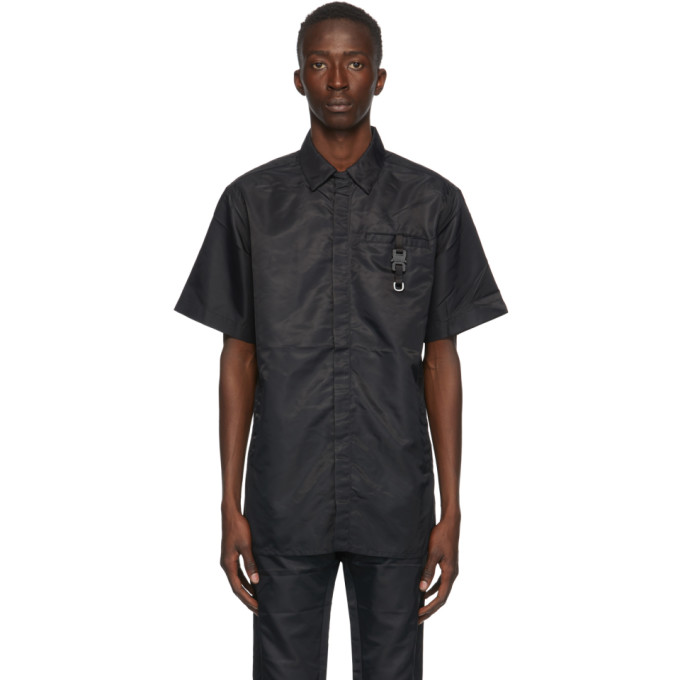 1017 ALYX 9SM Black Buckle Shirt 202776M19204801