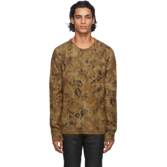 1017 ALYX 9SM Brown Leopard Sweater 202776M20100602