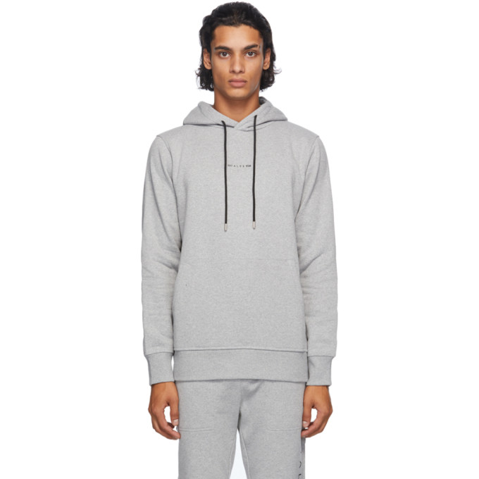 1017 ALYX 9SM Grey Visual Hoodie 202776M20205805
