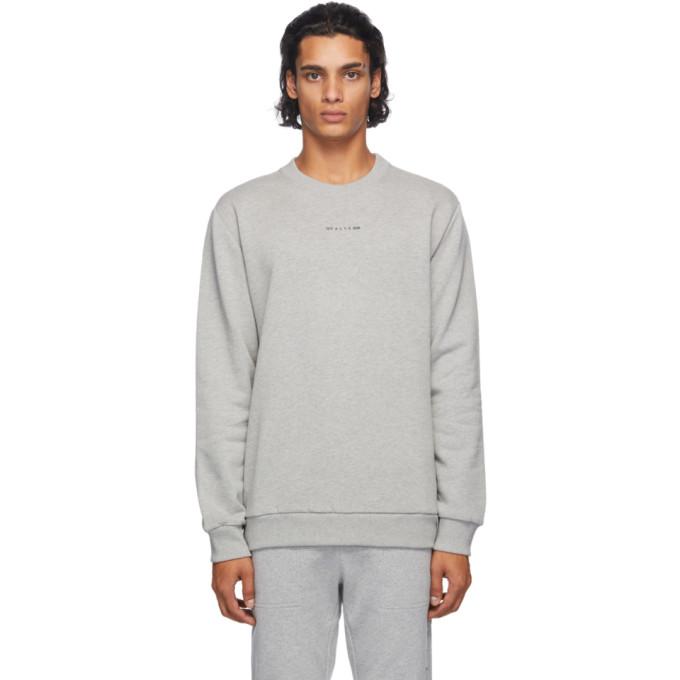 1017 ALYX 9SM Grey Visual Logo Sweatshirt 202776M20405802