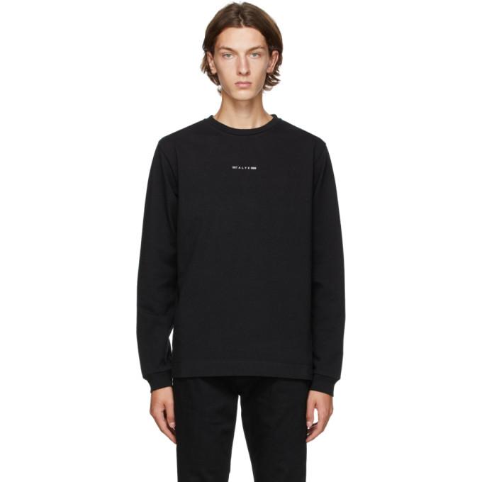 1017 ALYX 9SM Black A Sphere Long Sleeve T Shirt 202776M21306405