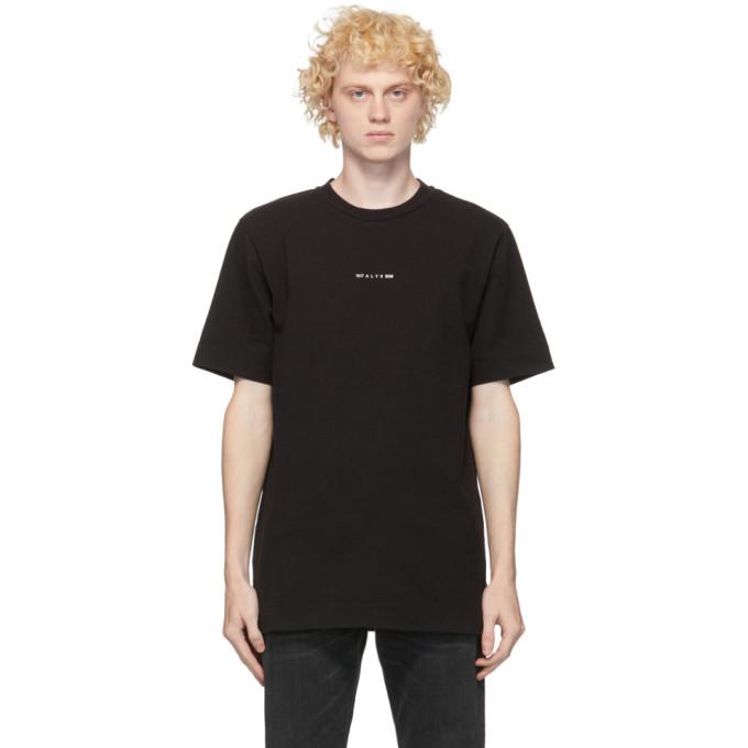 1017 ALYX 9SM Black A Sphere Logo T Shirt 202776M21306701