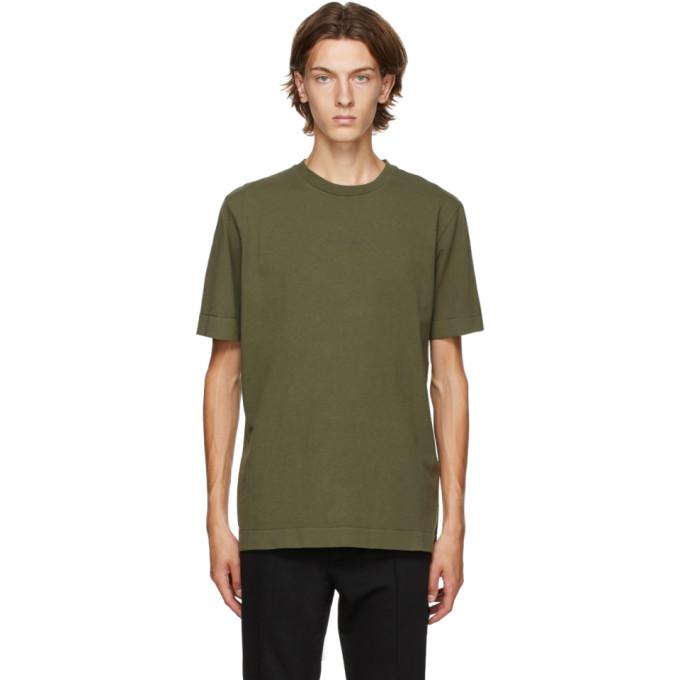 1017 ALYX 9SM Green A Sphere Logo T Shirt 202776M21306805