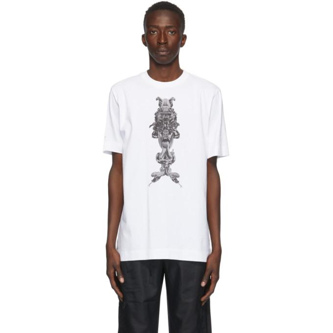 1017 ALYX 9SM White Manico T Shirt 202776M21307102