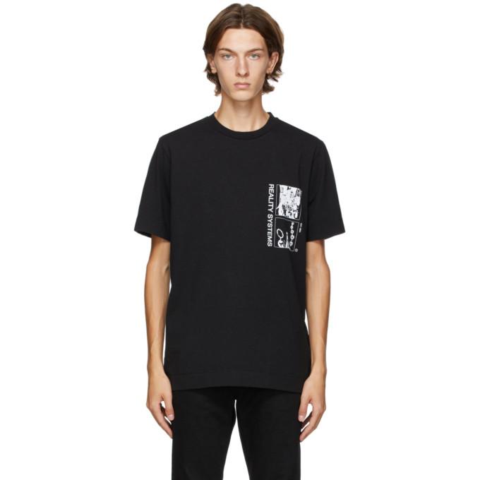 1017 ALYX 9SM Black Grid T Shirt 202776M21307205