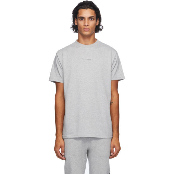 ALYX 1017 ALYX 9SM GREY VISUAL LOGO T-SHIRT