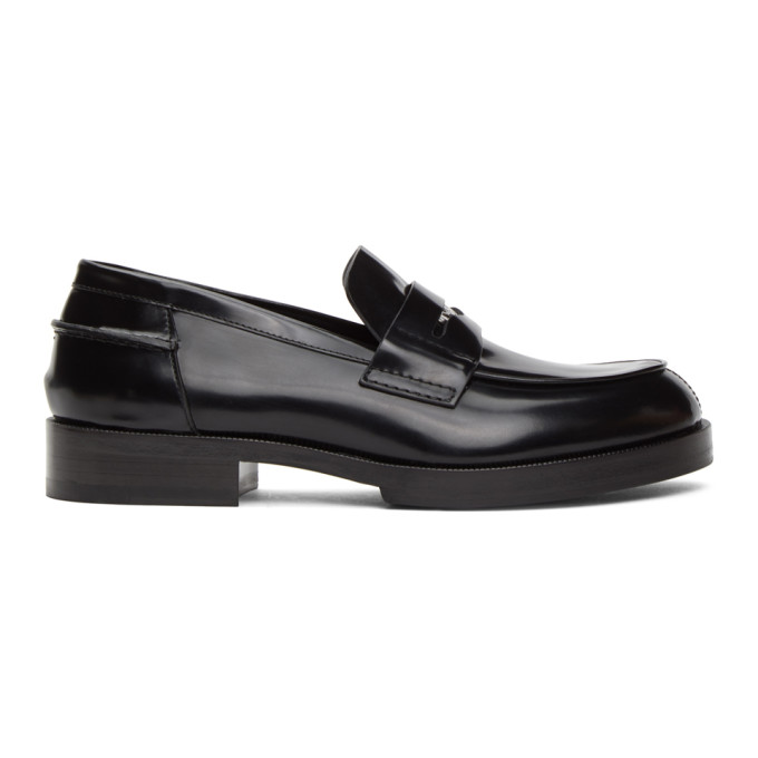 1017 ALYX 9SM Black A Penny Loafers 202776M23114005