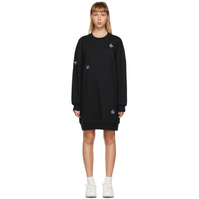 Perks And Mini PERKS AND MINI BLACK UNDER UNDERGROUND SWEATER DRESS
