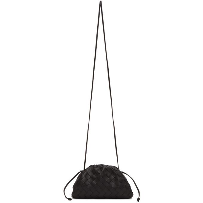 Bottega Veneta Black Intrecciato Small 'the Pouch' Clutch