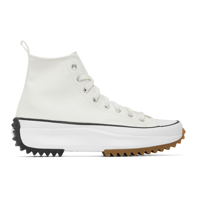 Converse WHITE JW ANDERSON EDITION RUN STAR HIKE SNEAKERS