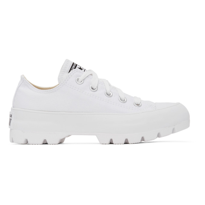 Converse White Lugged Chuck Taylor All