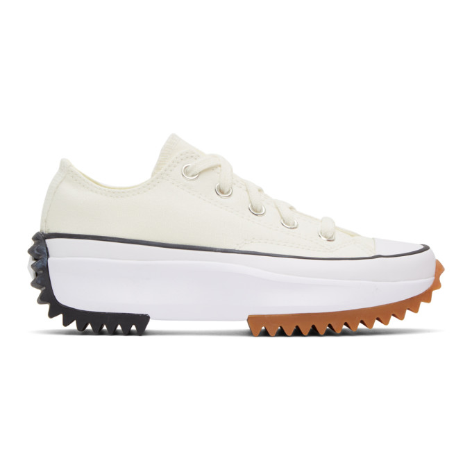 Converse CONVERSE WHITE RUN STAR HIKE LOW SNEAKERS