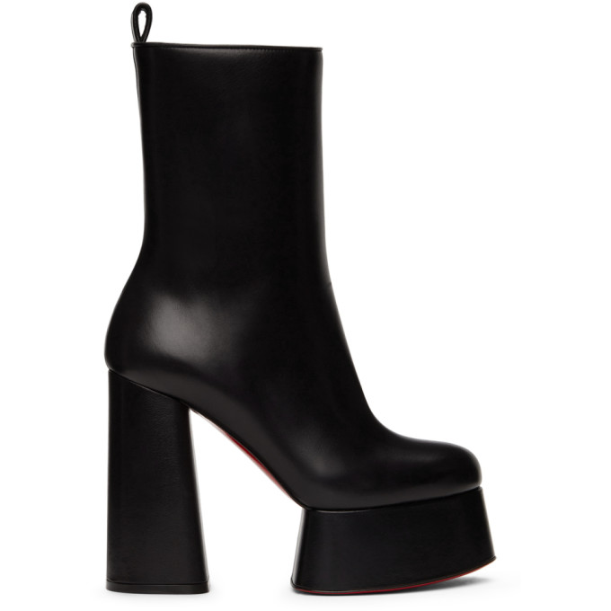 Christian Louboutin 黑色 Izamayeah 中筒靴