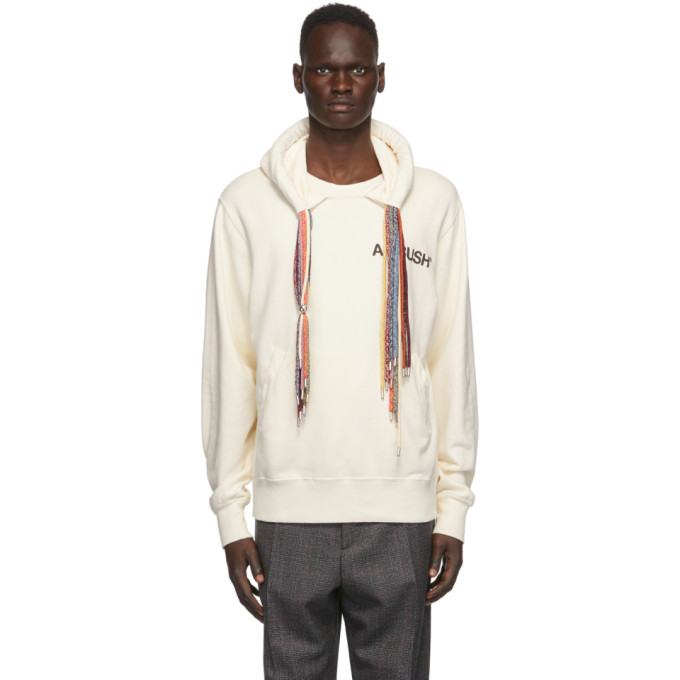 SSENSE Exclusive Off-White Multi Cord Hoodie