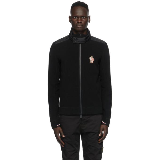 Moncler Grenoble Moncler Grenoble Black Cardigan Jacket