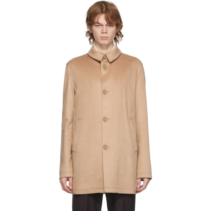 Herno Herno Tan Cashmere Topper Jacket