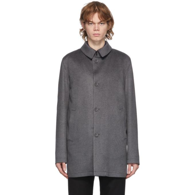 Herno Herno Grey Cashmere Topper Jacket