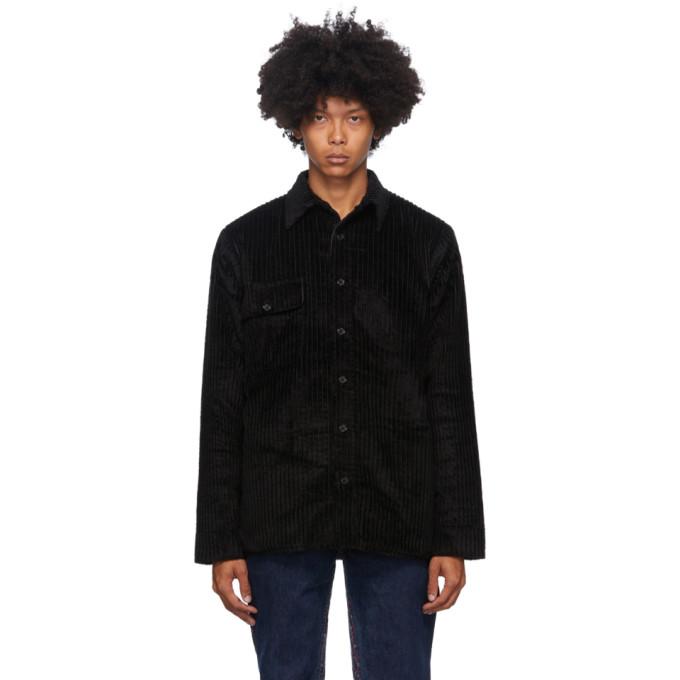 Bless Bless Reversible Black Corduroy Woodhacker Jacket