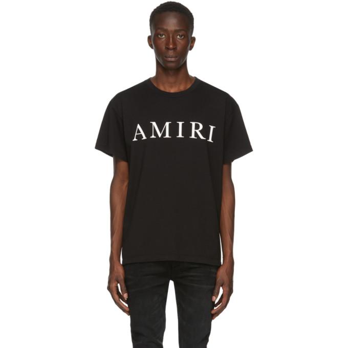 Amiri T-shirt noir Large Logo