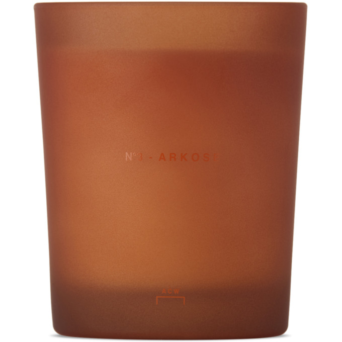 No. 3 Arkose Scented Candle, 6.3 oz