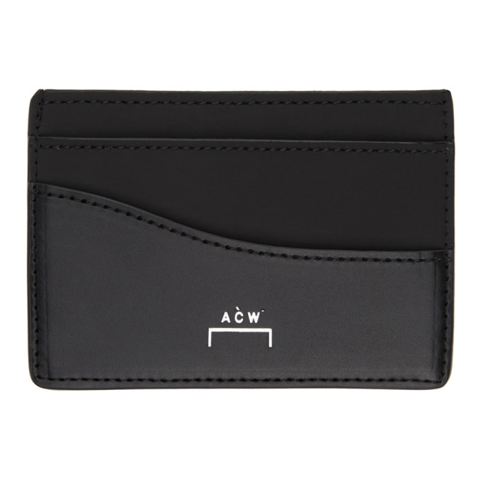 A-Cold-Wall* A-COLD-WALL* BLACK STIRLING CARD HOLDER