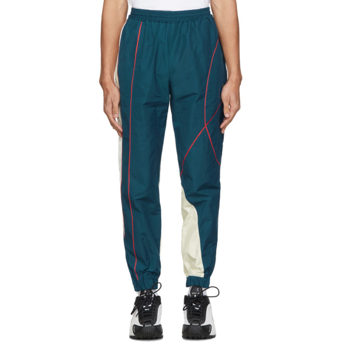 SSENSE Exclusive Blue Twist Track Pants