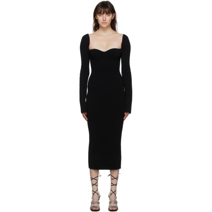 Khaite KHAITE BLACK BETH DRESS