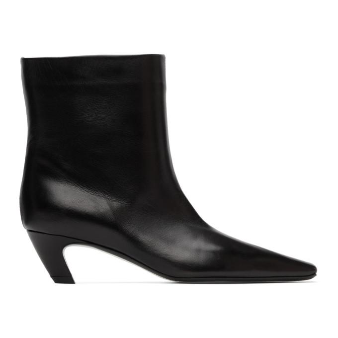 Khaite Black Arizona Boots