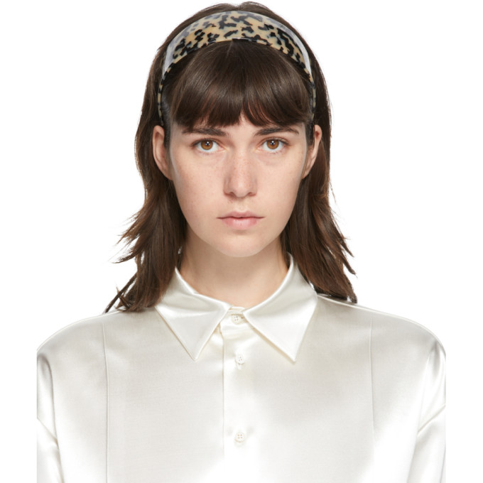 Sophie Buhai Serre-tete beige et noir Bessette
