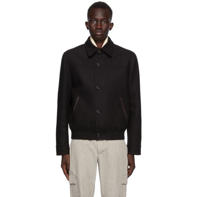 Brioni Brioni Black Wool and Cashmere Jacket