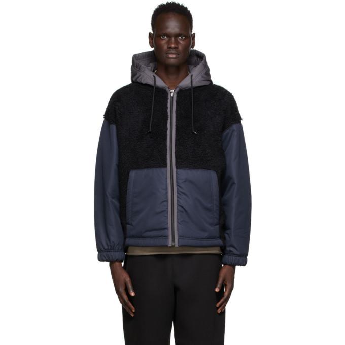 N.Hoolywood N.Hoolywood Black Hooded Jacket