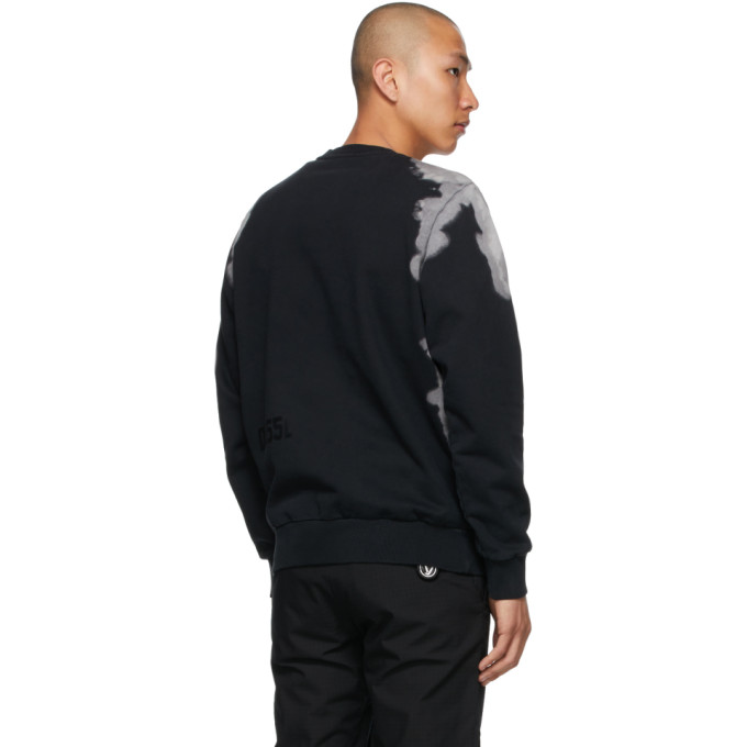 DIESEL Sweatshirts DIESEL BLACK S-GIRK-A62 SWEATSHIRT