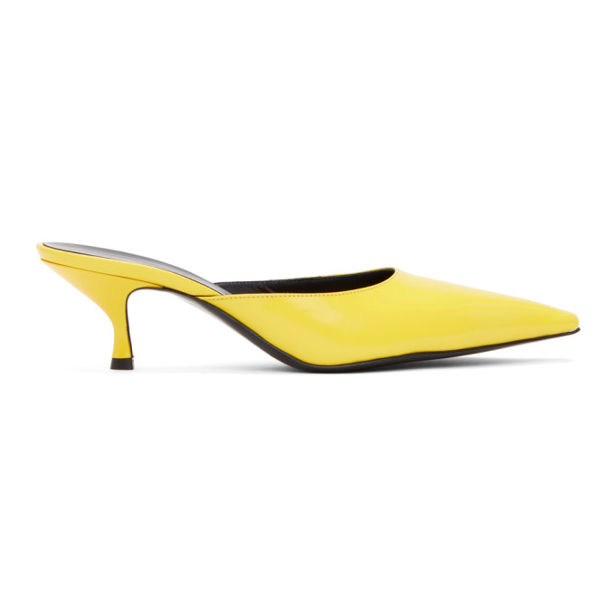 Kwaidan Editions KWAIDAN EDITIONS YELLOW POINTED HEELS
