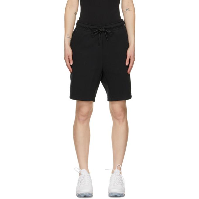 Nike Black Tech Fleece Shorts