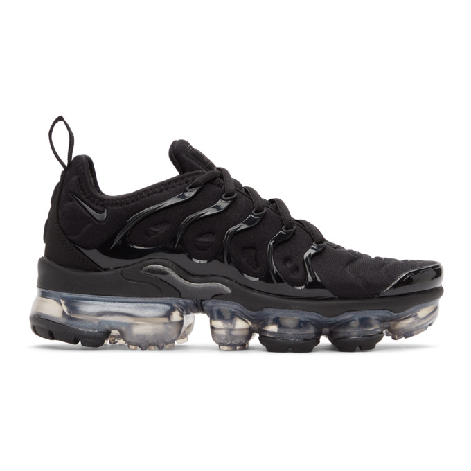 Nike NIKE BLACK AIR VAPORMAX PLUS SNEAKERS